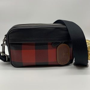 Other - 🔥🎄Mens Graham Crossbody Buffalo Plaid 🎄🔥